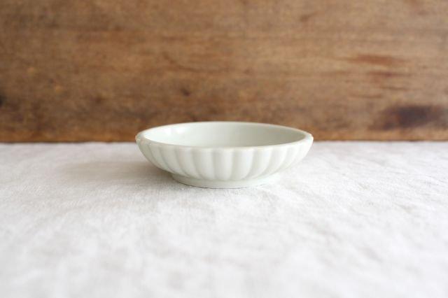 豆皿 土灰 ひまわり 磁器 東屋 画像2