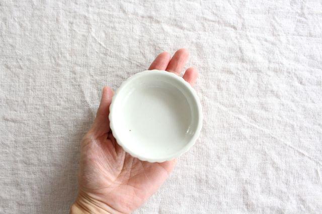 豆皿 土灰 ひまわり 磁器 東屋 画像4