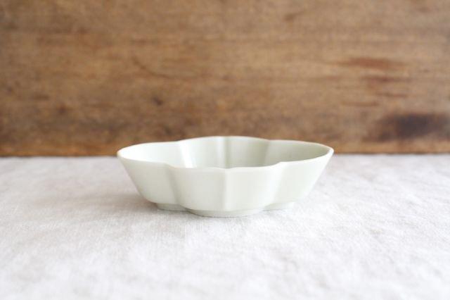 豆皿 土灰 木瓜 磁器 東屋 画像2