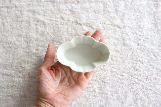 豆皿 土灰 木瓜 磁器 東屋 画像4