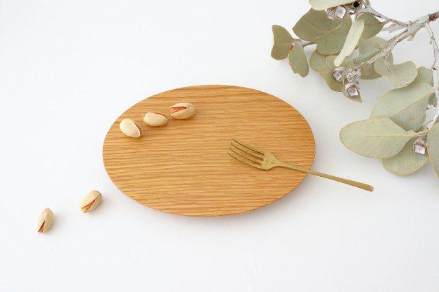 楕円皿 ナラ Semi-Aco 加賀雅之 画像3