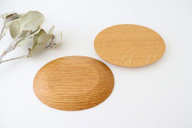 楕円皿 ナラ Semi-Aco 加賀雅之 画像4