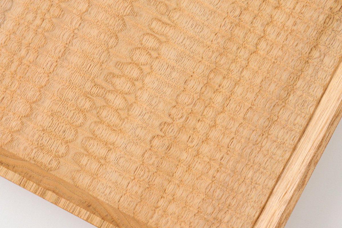 7寸角皿 オニグルミ Semi-Aco 加賀雅之 画像3