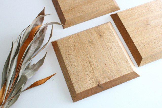 7寸角皿 オニグルミ Semi-Aco 加賀雅之 画像4