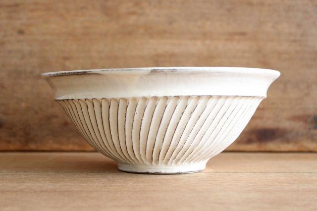 【一点もの】鎬大鉢 陶器 後藤義国 画像4