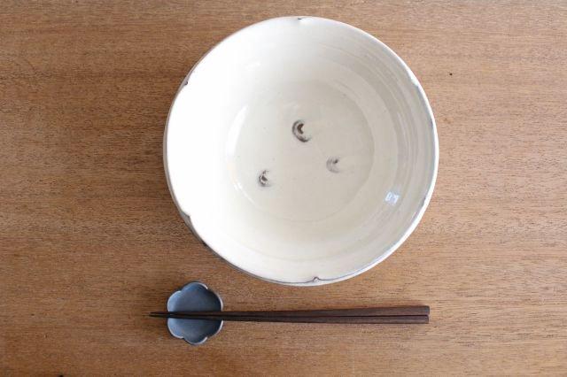 【一点もの】輪花鎬大鉢 陶器 後藤義国 画像3