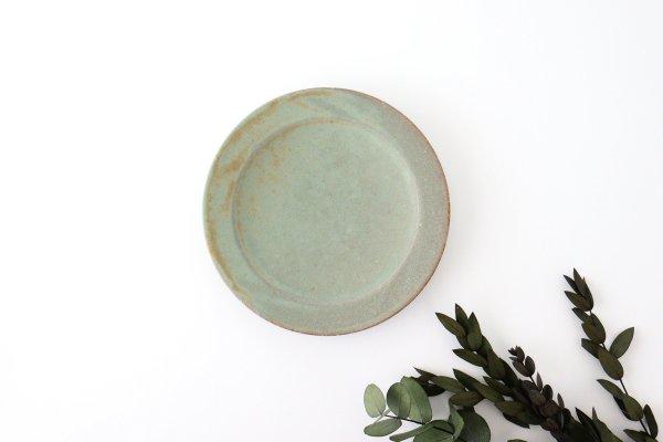 5寸皿 薄荷 陶器 平沢佳子商品画像