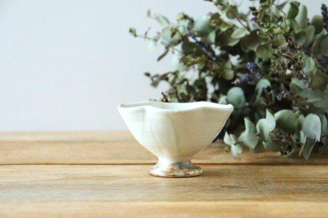 粉引 花びら高台ミニ小鉢 陶器 古谷製陶所 画像3