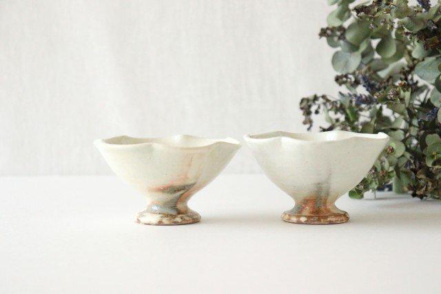 粉引 花びら高台ミニ小鉢 陶器 古谷製陶所 画像5