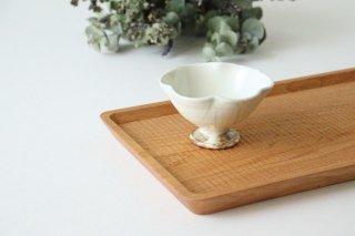 粉引 花びら高台ミニ小鉢 陶器 古谷製陶所商品画像