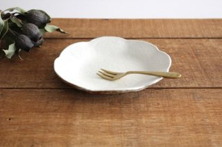 鉄散 輪花皿 小 陶器 古谷製陶所商品画像