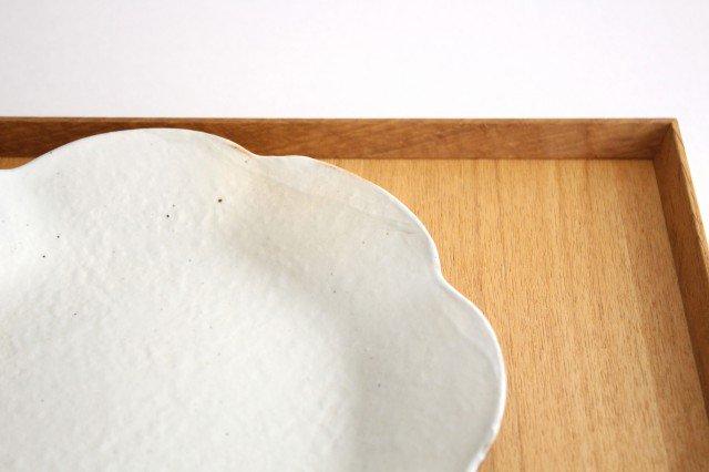 鉄散 輪花皿 中 陶器 古谷製陶所 画像5