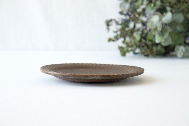 錆釉 ラッフルプレート S 陶器 古谷製陶所 画像3