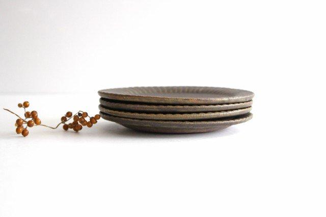 錆釉 ラッフルプレート S 陶器 古谷製陶所 画像4