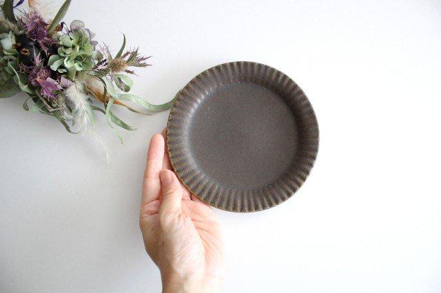 錆釉 ラッフルプレート S 陶器 古谷製陶所 画像6