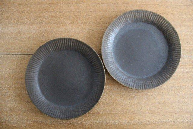 錆釉 ラッフルプレート L 陶器 古谷製陶所 画像6