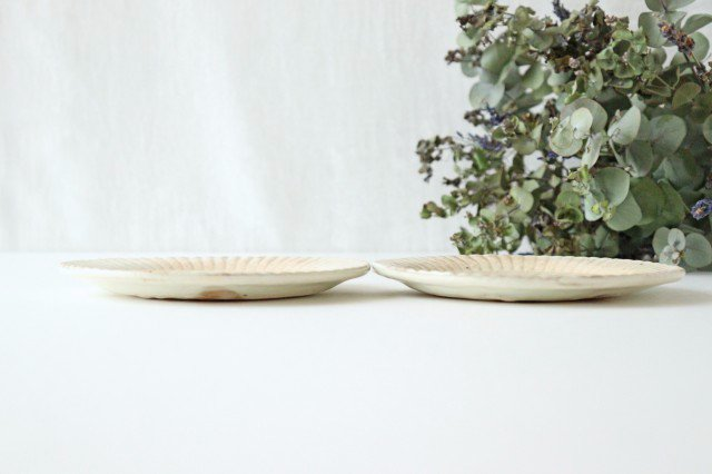 鉄散 ラッフルプレート S 陶器 古谷製陶所 画像2