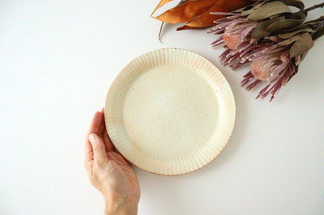 鉄散 ラッフルプレート M 陶器 古谷製陶所 画像4