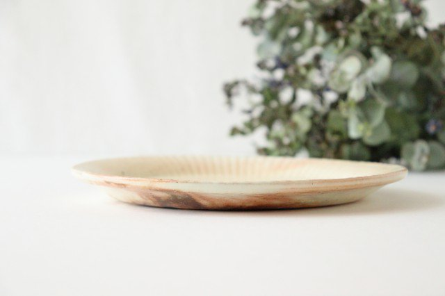 鉄散 ラッフルプレート L 陶器 古谷製陶所 画像2