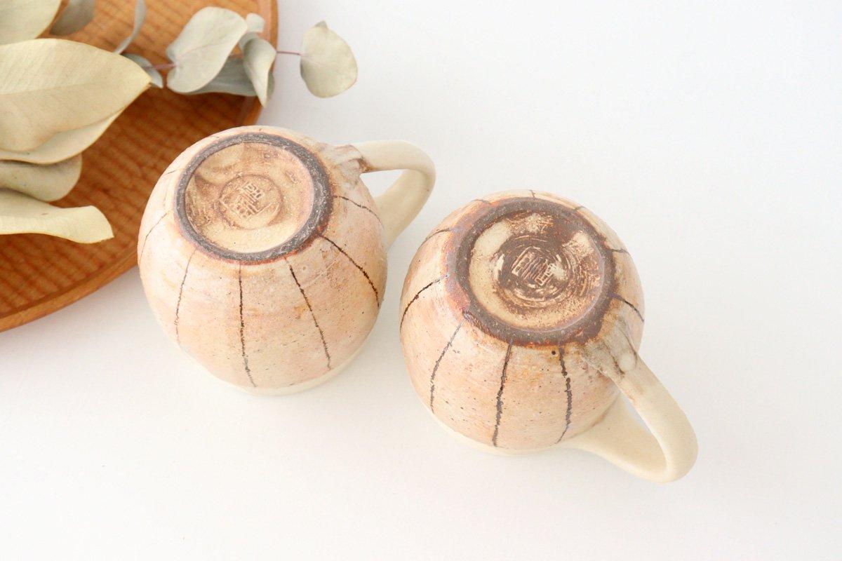 たて鉄線 エッグマグ 陶器 古谷製陶所 画像5