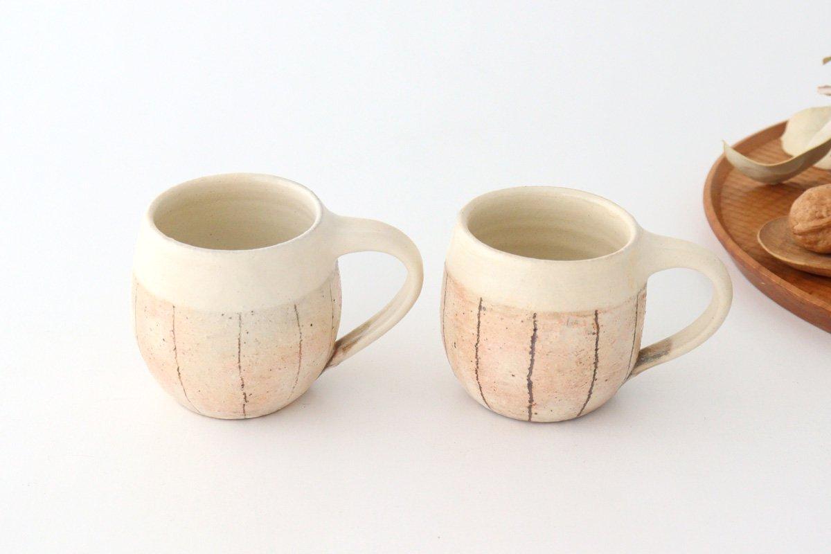 たて鉄線 エッグマグ 陶器 古谷製陶所 画像6