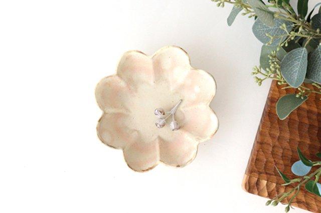 粉福花の小皿 陶器 木のね