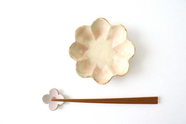 粉福花の小皿 陶器 木のね 画像3