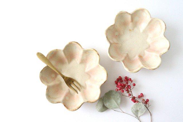 粉福花の小皿 陶器 木のね 画像6