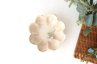 粉福 花の小皿 陶器 木のね商品画像