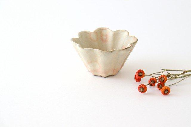 粉福花カップ 陶器 木のね