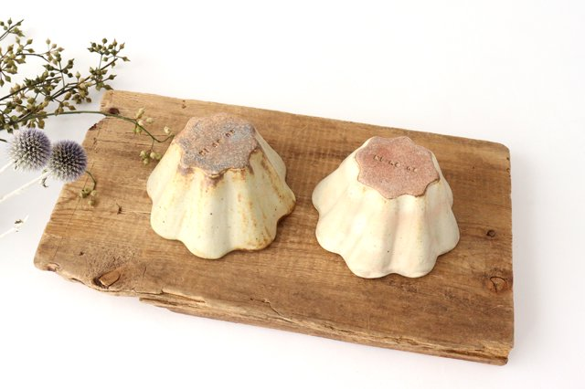 粉福花カップ 陶器 木のね 画像2