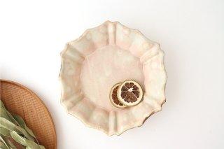 粉福 六角ロココ皿 陶器 木のね商品画像