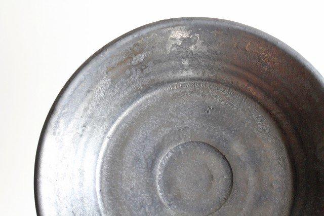 7寸鉢 鉄色 陶器 石井ハジメ 画像5