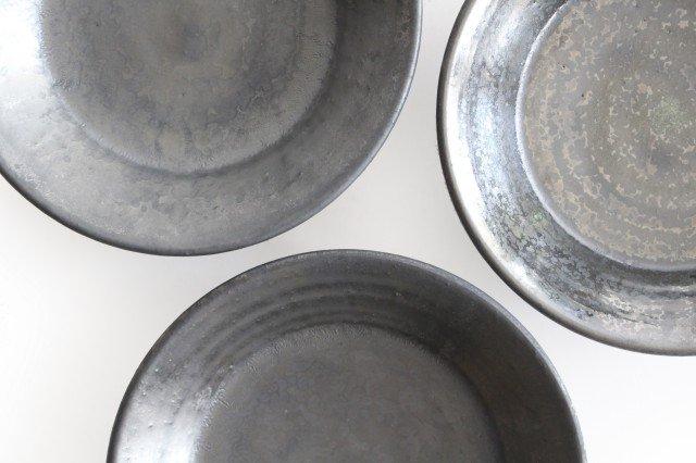 5.5寸鉢 鉄色 陶器 石井ハジメ 画像2