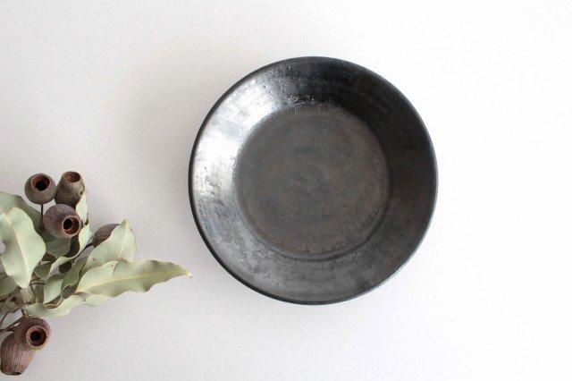 5.5寸鉢 鉄色 陶器 石井ハジメ 画像4