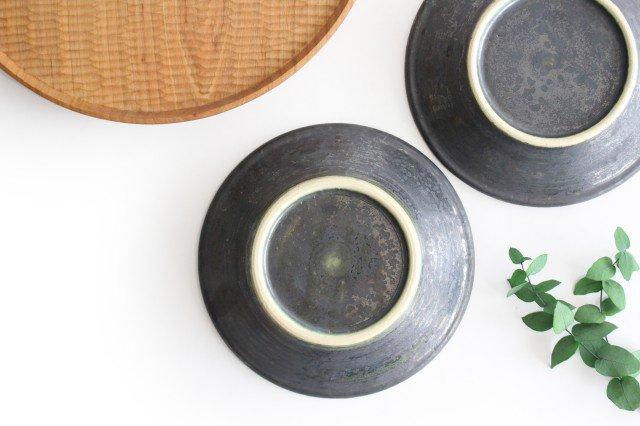 5.5寸鉢 鉄色 陶器 石井ハジメ 画像5