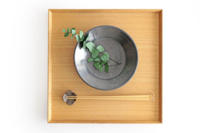 5.5寸鉢 鉄色 陶器 石井ハジメ 画像6