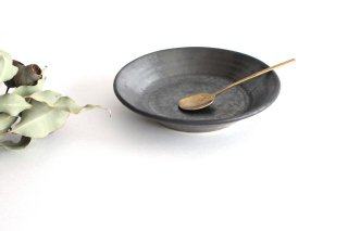 5.5寸鉢 鉄色 陶器 石井ハジメ商品画像