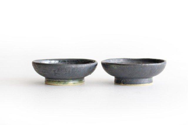型打ち小鉢 鉄色 陶器 石井ハジメ 画像6