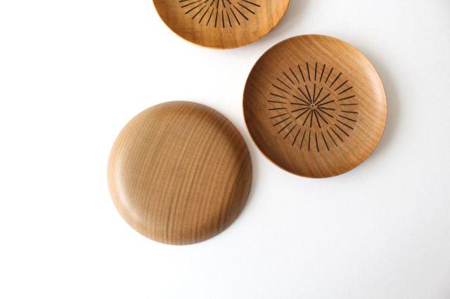 豆皿 放射線 さくら 白鷺木工 画像5