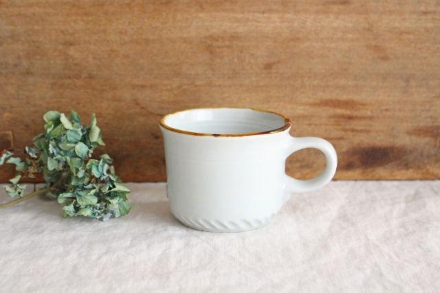 コーヒーカップ ミント 磁器 原村俊之