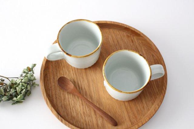 コーヒーカップ ミント 磁器 原村俊之 画像2