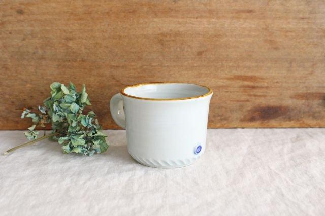 コーヒーカップ ミント 磁器 原村俊之 画像4