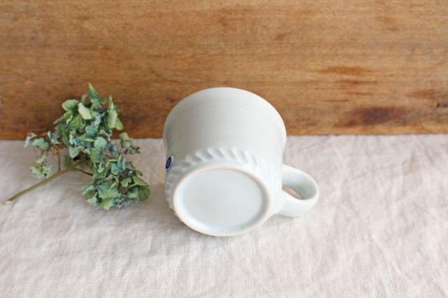 コーヒーカップ ミント 磁器 原村俊之 画像6