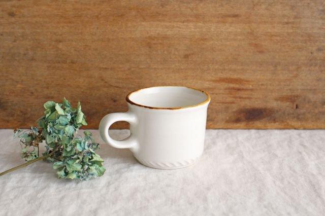 コーヒーカップ  ホワイト  磁器 原村俊之 画像3