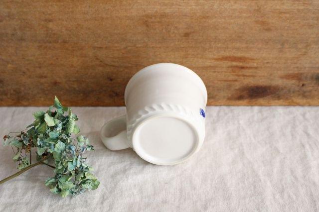 コーヒーカップ  ホワイト  磁器 原村俊之 画像5