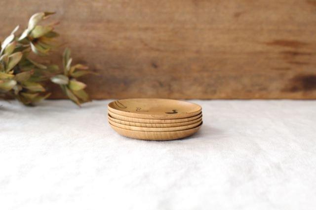 豆皿 アヒル さくら 白鷺木工 画像2