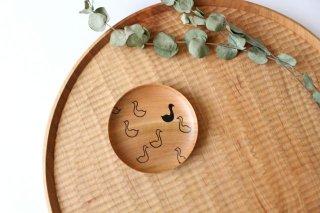 豆皿 アヒル さくら 白鷺木工商品画像