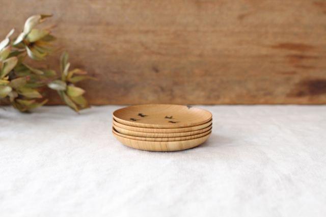 豆皿 ツバメ さくら 【A】 白鷺木工 画像3