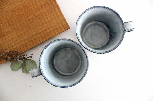 美濃焼 スパイラルマグ 【A】 ホワイト 陶器  画像3